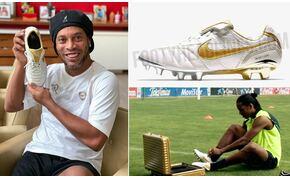 """14 éves Ronaldinho """"kapufázós"""", rekordot döntő reklámja"""