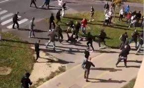 Nyomoz a rendőrség a Zalaegerszegen verekedő focidrukkerek után