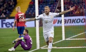 Európa-liga: nagy győzelmet aratott a Ferencváros Moszkvában – videó