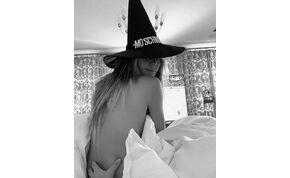 Közeledik Halloween, Heidi Klum pedig levideózta mellvillantó ruháját