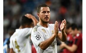 Hazard: Nem könnyű Ronaldo mezét viselni