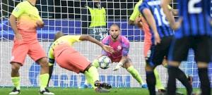 Guardiola alkalmi kapusa minden lövést védett az Atalanta ellen