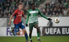 Európa-liga: a Ferencváros Budapesten sem kapott ki a CSZKA Moszkvától