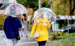 Enyhe időnk lesz vasárnap, de az eső belerondíthat a szabadtéri programunkba