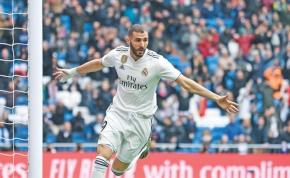 Négyet rúgott a Real, Benzema megelőzte Puskást – videó