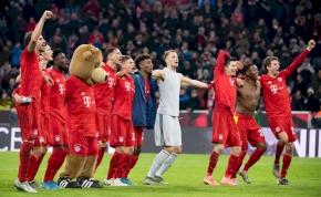 Nulla kaput találó Dortmund-lövés, négy Bayern gól