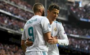 Benzema jobban teljesít Ronaldónál