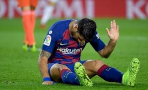 Suárez: A Barcelonának új csatárt kell keresnie