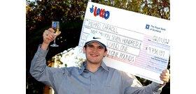 Csupán 4000 nővel feküdt le a lottónyertes