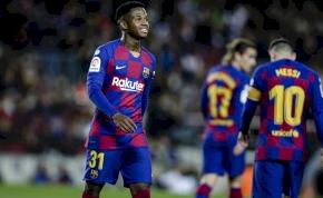 """""""Ansu Fatinak a Barca B-csapatában kell játszania"""""""