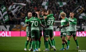 Gólgazdag győzelemmel vette át a tabella vezetését a Ferencváros – videó