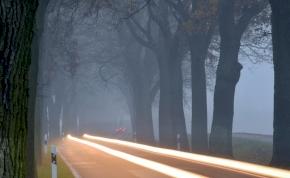 Pár nap múlva drasztikus fordulatot vesz az időjárás, de addig a köd az úr