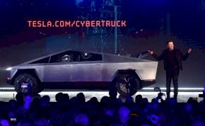 Miért tört be a Tesla Cybertruck üvege?