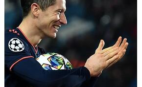 Három perc kihagyás Madridban, Lewandowski négyes Belgrádban – videó