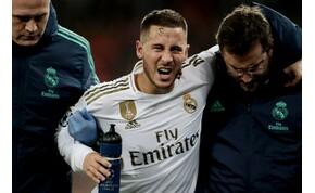 Kiderült, hogy mennyire súlyos Eden Hazard sérülése