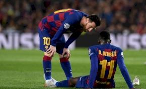 Újra megsérült a Barca támadója, sírva fakadt – videó