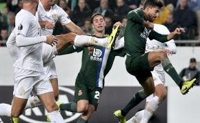 Európa-liga: utolsó percben kapott góllal úszott el a Fradi győzelme