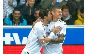 Szakadó esőben, 99 perces meccset nyert meg a Real Madrid – videó