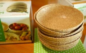 Piacra dobják az ehető tányérokat, csökkenhet a műanyagszennyezés