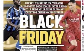"""""""Black Friday"""" – rasszista jellegű felvezetést kapott az Inter–Roma"""