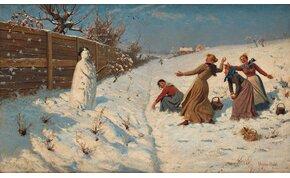 Soha nem találnád ki, hogy mikor építették az első hóembert!