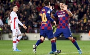 Hihetetlen Suárez-gól és Messi-mesterhármas a Mallorca ellen – videó