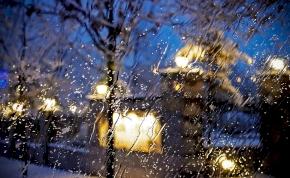 Érkezik a frontálzóna, és hozza magával az ónos esőt