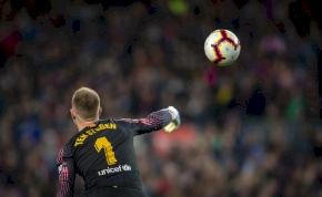 A Barca kapusának több gólpassza van a szezonban, mint Ronaldónak