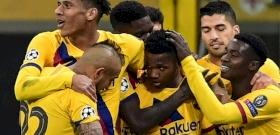 Messi nélkül ütötte ki a Bajnokok Ligájából a Barcelona az Intert – videó