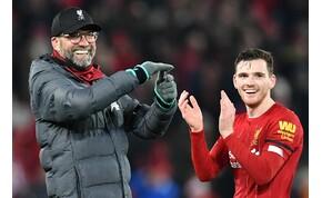 """""""Senki sem akar ellenünk játszani"""" – van önbizalma a Liverpool védőjének"""