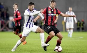 Sok harc, kevés futball a Honvéd-Újpest meccsen