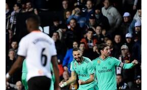 Drámai meccsen, a hosszabbításban mentett pontot a Real Madrid – videó