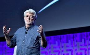 George Lucas letojta a Skywalker kora premierjét