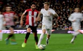 A Real Madrid ott folytatta, ahol a Barcelona ellen abbahagyta