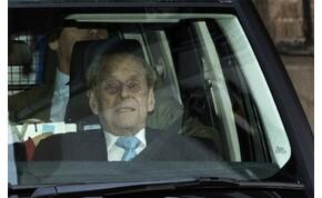 Visszatért családjához II. Erzsébet férje, Fülöp herceg