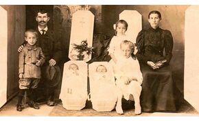 Halott gyermekeikkel, szüleik holttestével fotózkodtak a 19. században – videó
