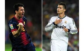 Ronaldo és Messi egy évtized alatt több gólt lőtt, mint néhány PL-csapat