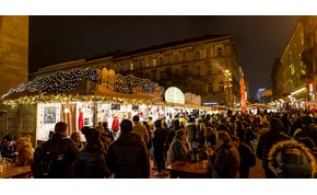 Forralt bor és fényár – így láttuk a 2019-es budapesti karácsonyi vásárt