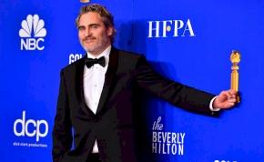 Íme Joaquin Phoenix káromkodós beszéde a Golden Globe-gálán