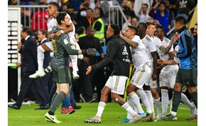A Real nyerte a spanyol Szuperkupát, a szurkolók Messit éltették