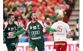 Kézi-eb: parádés meccset játszott a magyar válogatott az olimpiai- és világbajnok ellen!