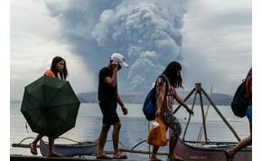 Félelmetes videóösszeállítás a Taal vulkán kitöréséről