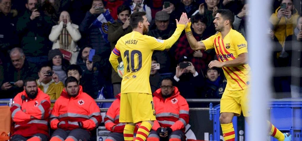 Ebben a mutatóban a Messi-Suarez páros a legjobb Európában