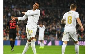 Casemiro volt a Real Madrid nyerőembere a Sevilla ellen – videó