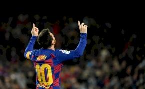 Messi-gól és győzelem az új Barcelona-edző első mérkőzésén