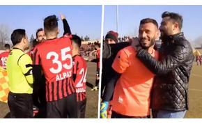 Egy török futballmérkőzés sajátos végjátékot hozott – videó