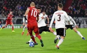 Robbenről mindenki tudta, hogy mit fog csinálni, mégis gól lett a vége – videó