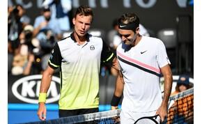 Australian Open: megvan a Fucsovics – Federer meccs időpontja