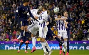 Kihasználta a Barcelona botlását a Real Madrid