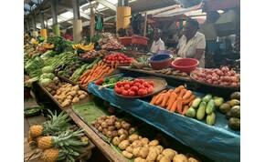 Zsolt utazása: egy madagaszkári piac, amely a város üde színfoltja – galéria